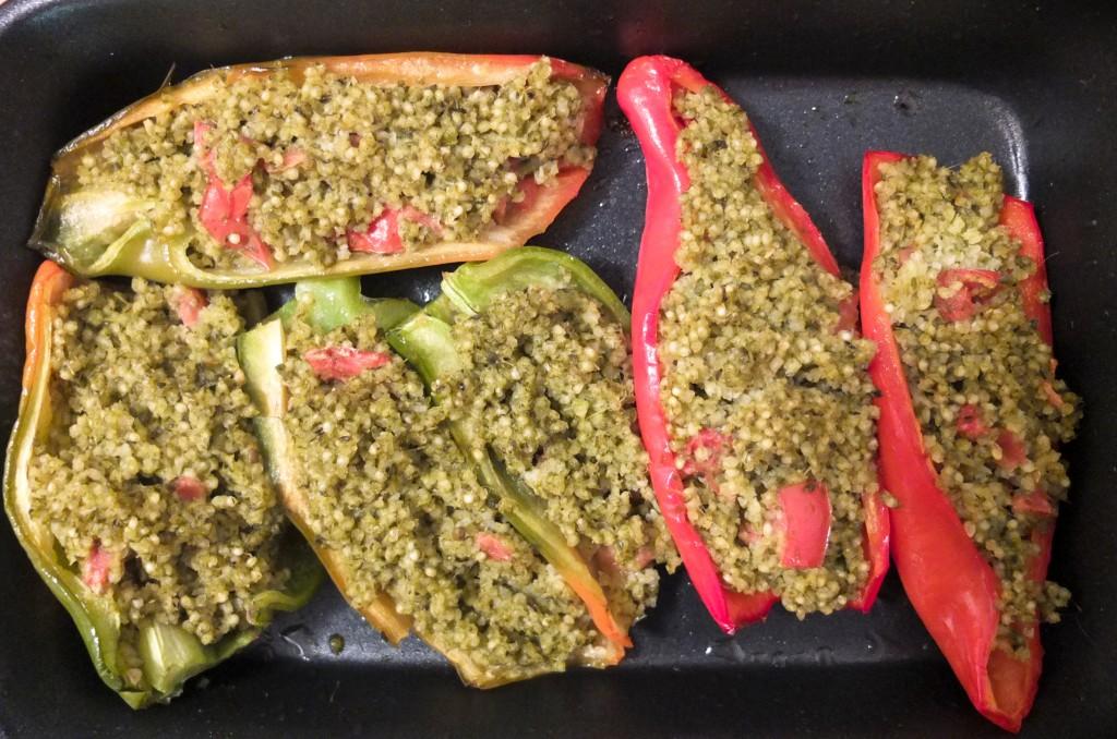 polnjene paprike