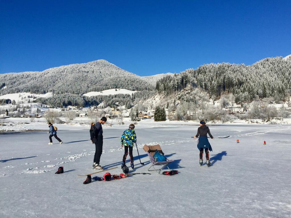 Mraz Hokej na ledu